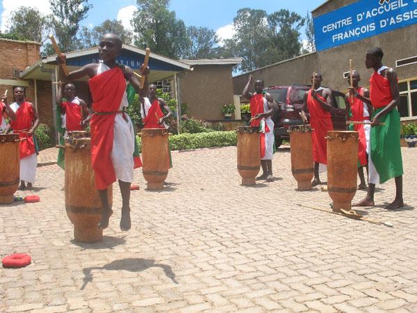 Rwanda Traditional Dancing