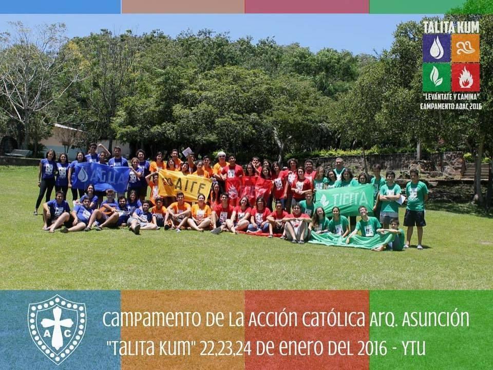 AC Paraguay - Asuncion Campamento de verano TALITA KUM