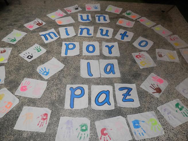 un minuto por la paz 2016 AC Medeliln