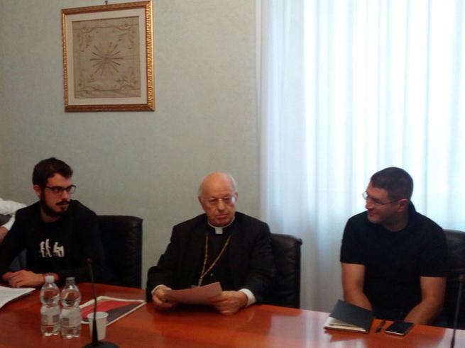 Incontro con il Card. Lorenzo Baldisseri, Segretario generale del Sinodo dei Vescovi