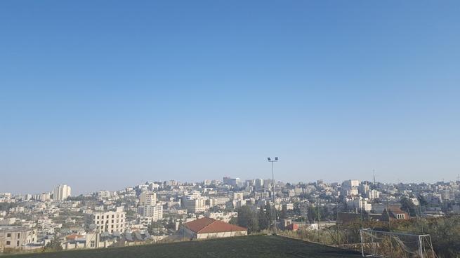Panorama di Betlemme dalla terrazza della Casa