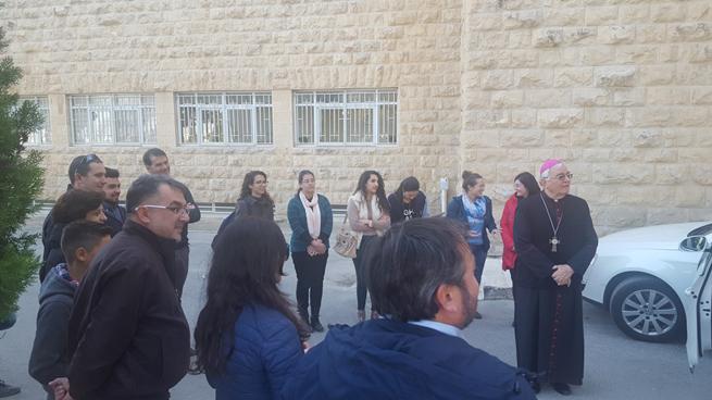 1 dicembre - arrivi al Seminario di Beit Jala