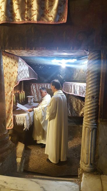2 dicembre - Santa Messa alla Grotta della Natività