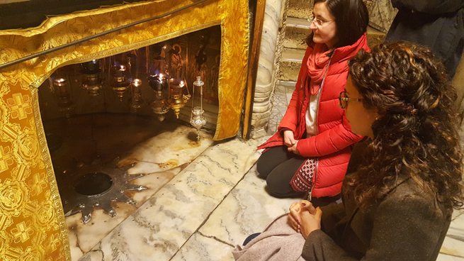 2 dicembre - Grotta della Natività