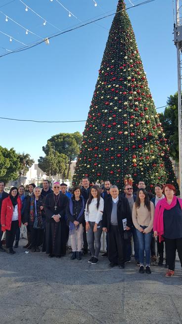 3 dicembre - prima della Santa Messa