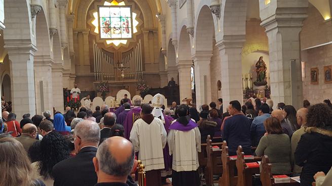 Santa Messa - Prima Domenica di Avvento, Parrocchia di Betlemme