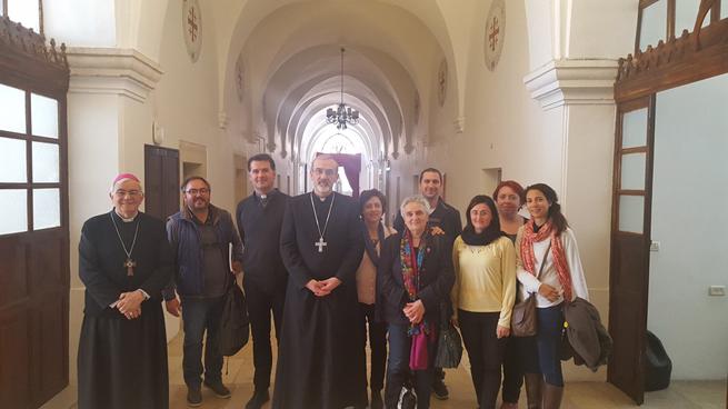 Incontro con S.E. Mons. Pierbattista Pizzaballa, Amministratore apostolico a Gerusalemme