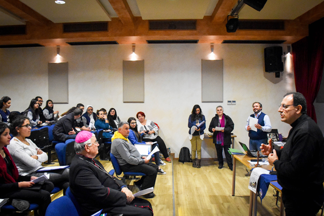 1 dicembre - Intervento del Rettore del Seminario di Beit Jala, p. Yacoub Rafidi