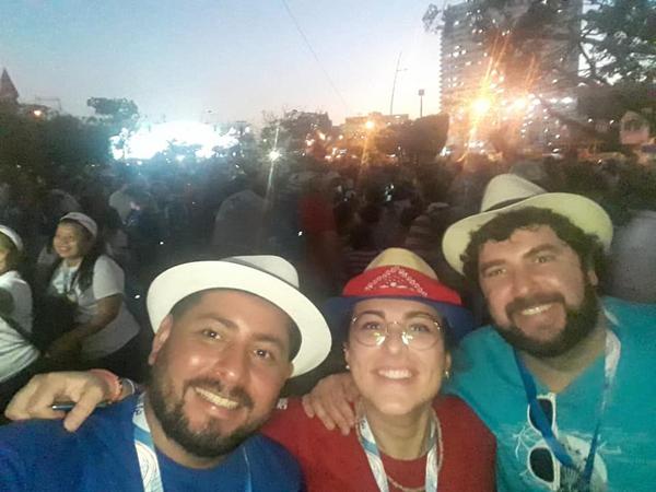 22.01.2019 Jorge, Emanuela, Fran