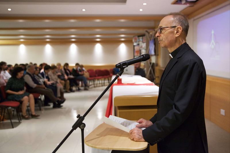 AKM Ecclesiastical Assistant Mons Frans Abdilla