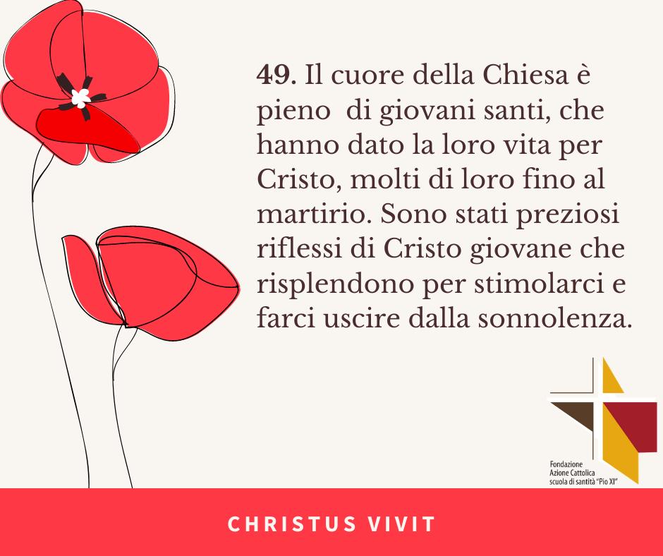 CHRISTUS VIVIT (1)