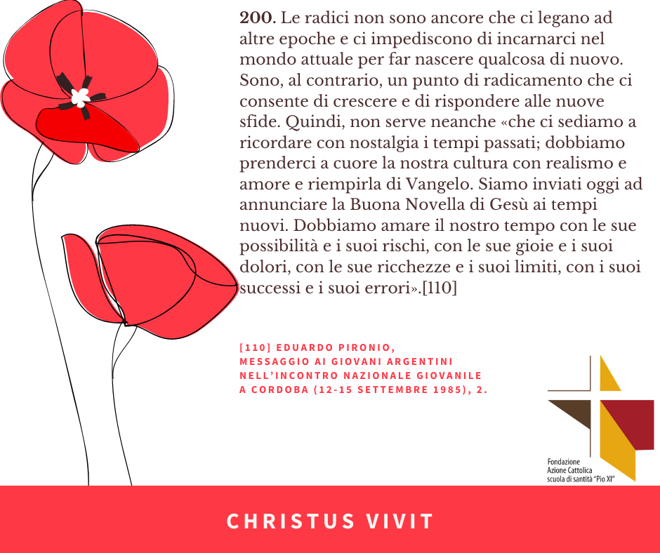 CHRISTUS VIVIT (10) Pironio