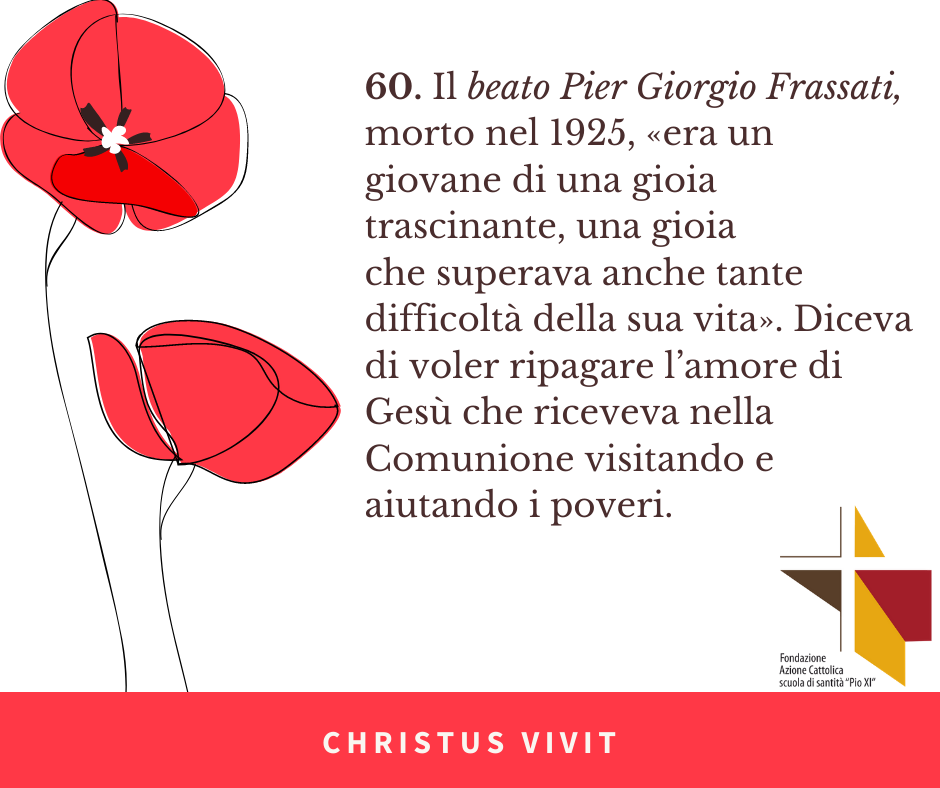 CHRISTUS VIVIT (7) Frassati