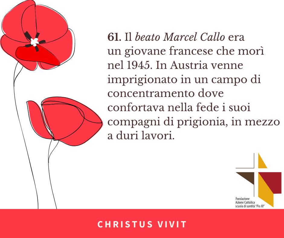 CHRISTUS VIVIT (8) Callo