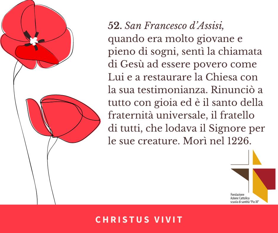 CHRISTUS VIVIT (9) Assisi