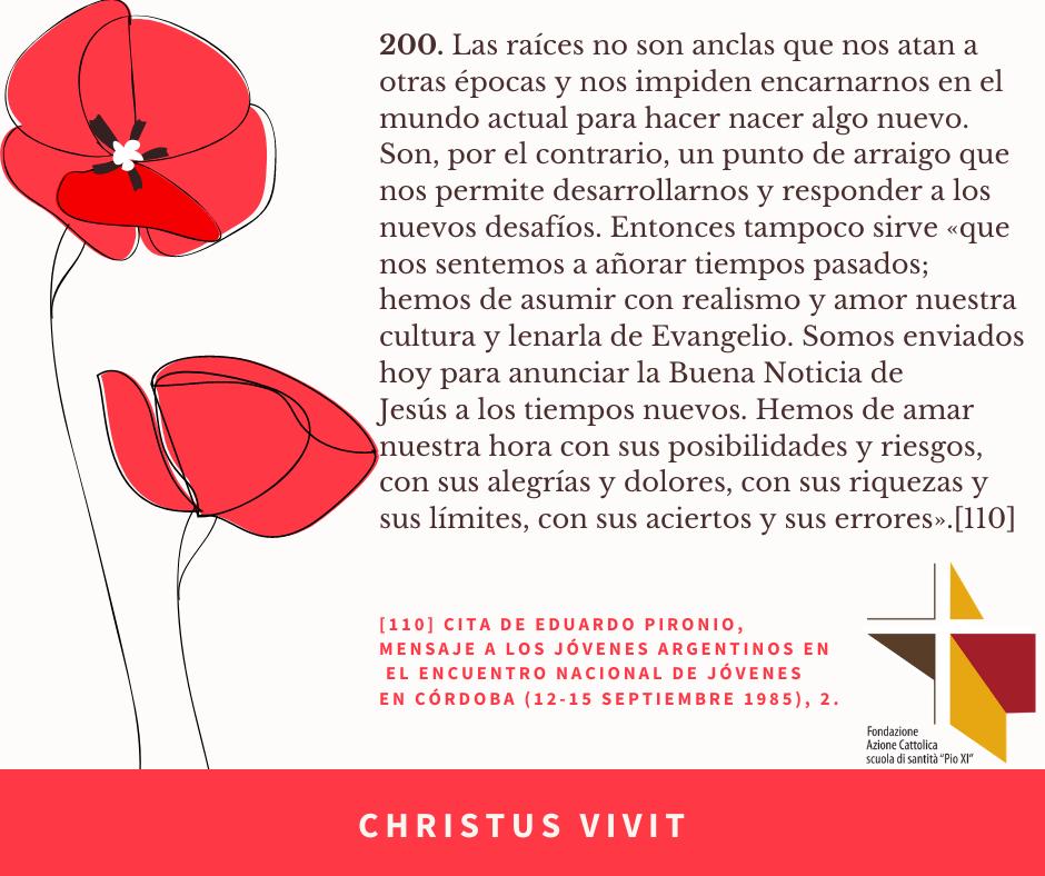 ES CHRISTUS VIVIT (7)