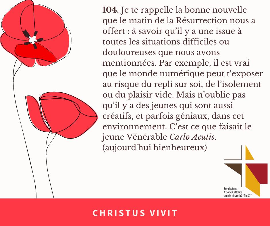 FR CHRISTUS VIVIT (1)